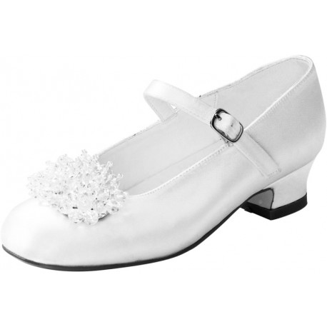 WHITE FIRST HOLY COMMUNION/SPECIAL OCCASION SHOES STYLE 4950