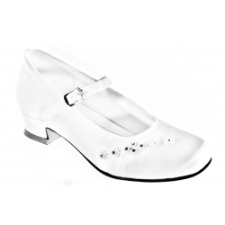 WHITE FIRST HOLY COMMUNION/SPECIAL OCCASION SHOES STYLE 5154