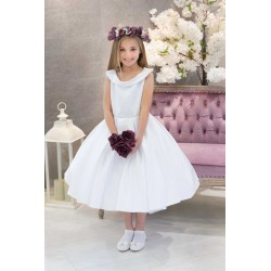 White First Holy Communion Dress Marigold