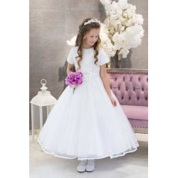 White First Holy Communion Dress Sunny