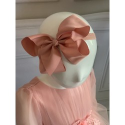 Handmade Pink Flower Girl/Special Occasion Headband Style PS02