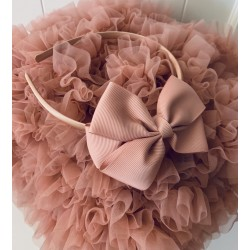 HANDMADE PINK FLOWER GIRL/SPECIAL OCCASION HEADBAND STYLE PS03