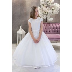 White First Holy Communion Dress Derby