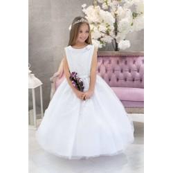 White First Holy Communion Dress Azaria