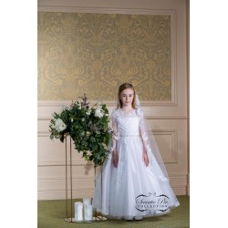 Sweetie Pie First Holy Communion Dress & Veil Style 4036