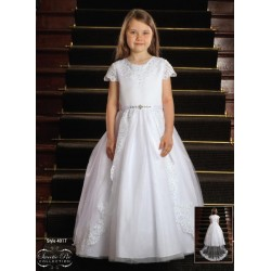 Sweetie Pie First Holy Communion Dress & Veil Style 4017