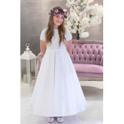 White Handmade First Holy Communion Dress Style IRMA