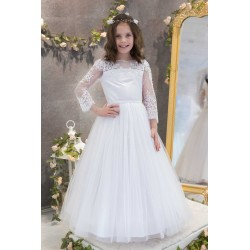 Handmade First Holy Communion Dress Style MARCELLA