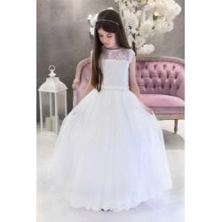 Lovely Handmade First Holy Communion Dress Style CARMELA