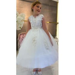 Handmade First Holy Communion Dress Style T-903