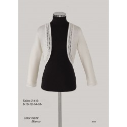 Ivory Handmade First Holy Communion Cardigan Style 5004