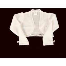 Ivory Handmade First Holy Communion Cardigan Style 5005