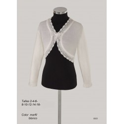 Ivory Handmade First Holy Communion Cardigan Style 5003