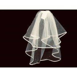 Ivory First Holy Communion Veil Style 1981