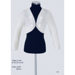 White Handmade First Holy Communion Cardigan Style 5000