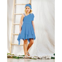 Amaya Blue Confirmation/Special Occasion Dress Style 534045