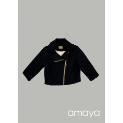 AMAYA BLACK CONFIRMATION/SPECIAL OCCASION JACKET STYLE 534017