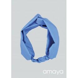 Amaya Handmade Blue Confirmation/Special Occasion Hairband Style 534045TU