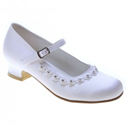 FIRST HOLY COMMUNION/SPECIAL OCCASION SATIN SHOES STYLE 5288