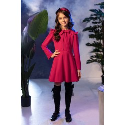Raspberry Confirmation/Special Occasion Dress Style 0AW-06C