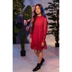 Red Confirmation/Special Occasion Dress Style 0AW-9C