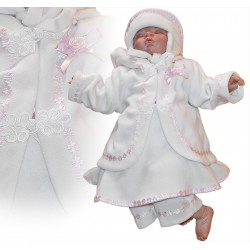 Winter Christening Dress Angelica