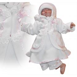 Winter Christening Dress Angelica