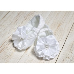 Christening Pearl Shoes