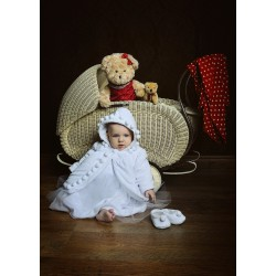Baby Girl Christening Ball Outfit