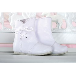 Baby Girl Boots of Leather D004