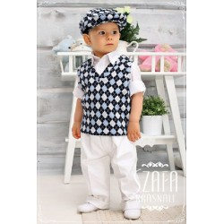 Christening/Special Occasions Outfit for Boys White Style YA005L
