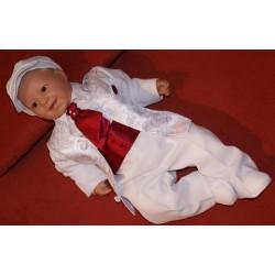 Boys Christening Outfit Patrick Burgundy