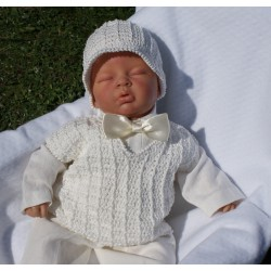 Handmade Christening Outfit Jacob