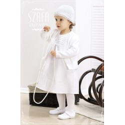 Linen Christening Dress WB007