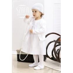 Linen Christening Dress WB007