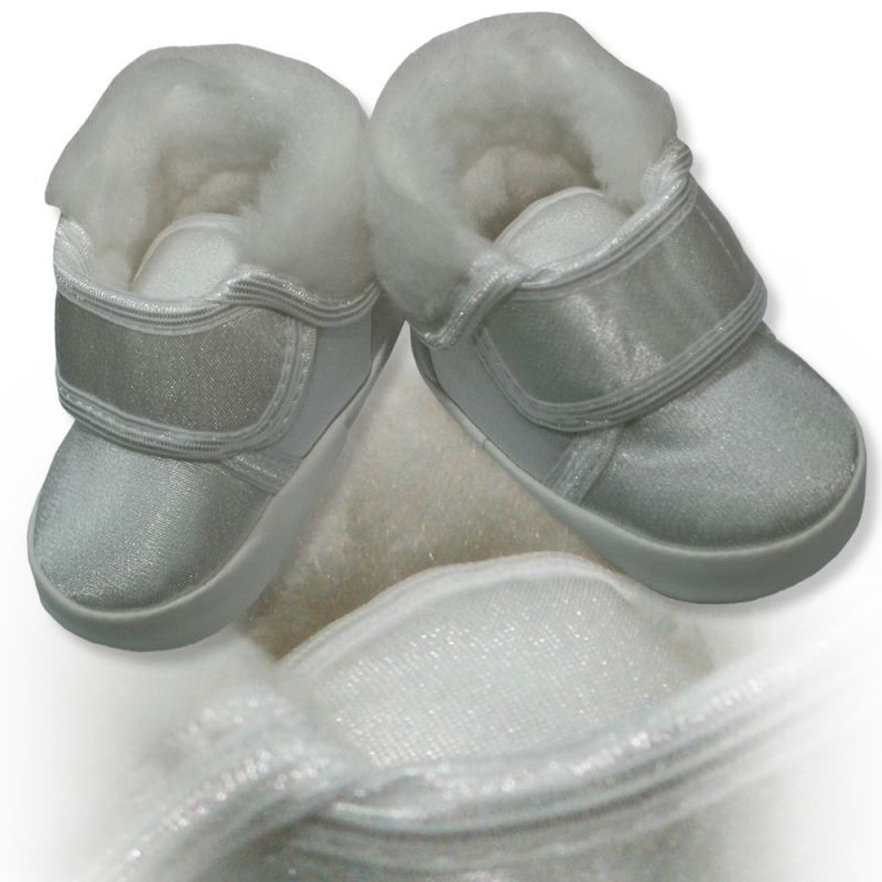 Satin Baby Shoes Christening