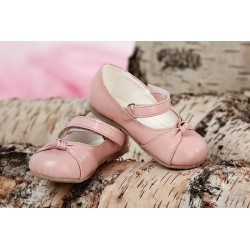 Girls Leather Christening/ Baptism Shoes D002