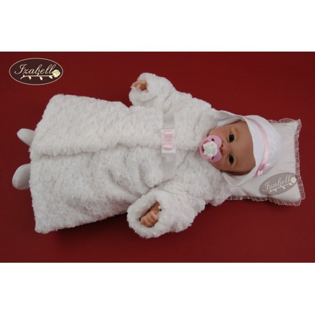 Warm Baptism/Wedding Dress Set Roxanne White