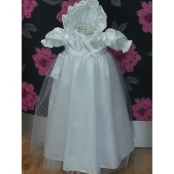 Eva Rose Christening Gown for Baby Girls Style TL459