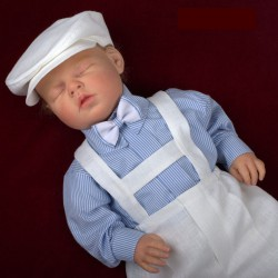 Linen Christening Outfit Jerry