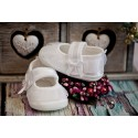 Christening Shoes M/baby Slippers White