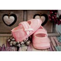 Christening Shoes M/baby slippers pink
