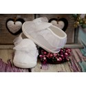Satin Christening Shoes M062