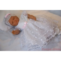 Baby Girl Christening Dress Blanche Summer