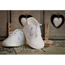 Velour Christening Shoes M005
