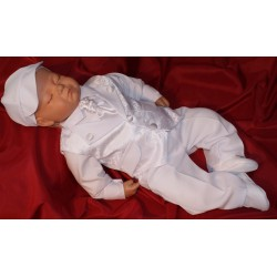 Baby Boys Christening Outfit Lucas White