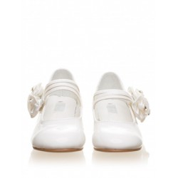Girls Ivory Communion / Flower Girl Shoes 3645IA