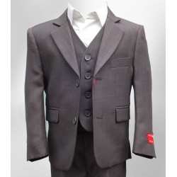 3 Pc Italian Design Grey Communion Page Boys Suit