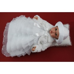 Christening Dress and Bolero Ann