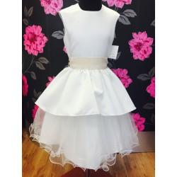 Ivory Flower Girl Dress Gabby